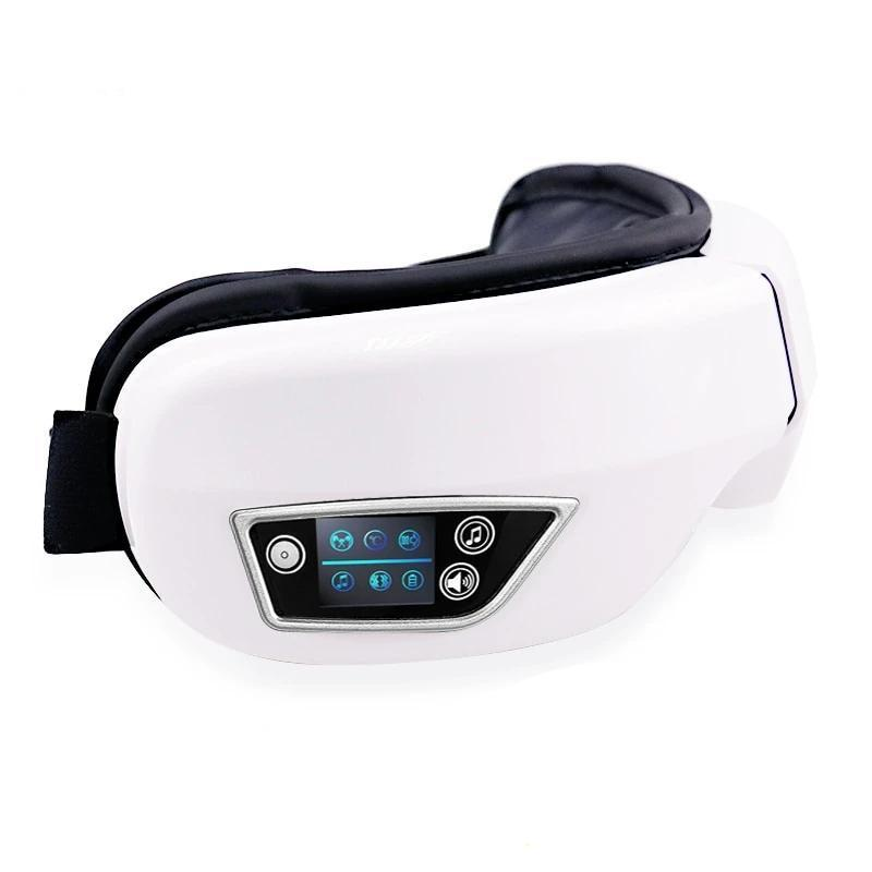 Bluetooth Eye Massager Eye Care Device Wrinkle Fatigue Relieve Heat Therapy - nerdygeektoys.com