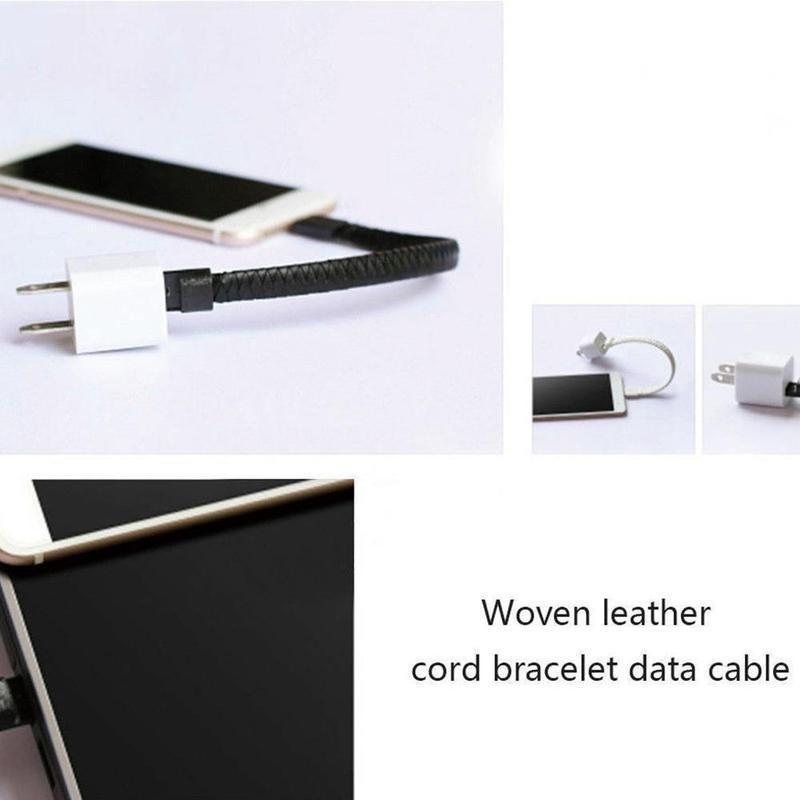 Bracelet data charging cable - nerdygeektoys.com