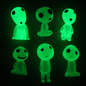 Car Ornament Glowing Mini Alien Dolls - nerdygeektoys.com