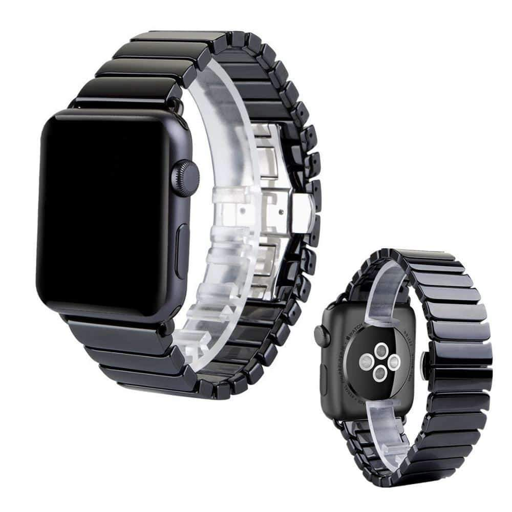 Ceramic Strap for Apple Watch Band 44 mm 40mm iwatch Series 4 5 3 2 1 - nerdygeektoys.com