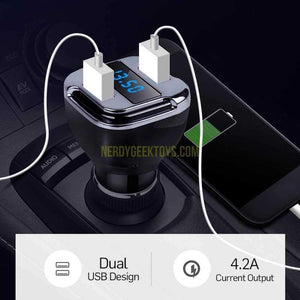 Dual USB GPS Tracker With Built In listening Device - nerdygeektoys.com