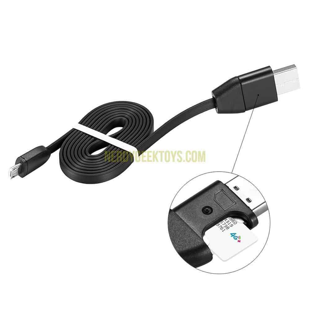 GPS Tracker USB Charger Tracking Device Micro USB Real Time - nerdygeektoys.com