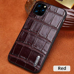 Genuine cowhide Leather Smartphone Phone Case For Apple iPhone - nerdygeektoys.com