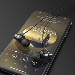 H8 Extreme Wired Earbuds With Mic - nerdygeektoys.com