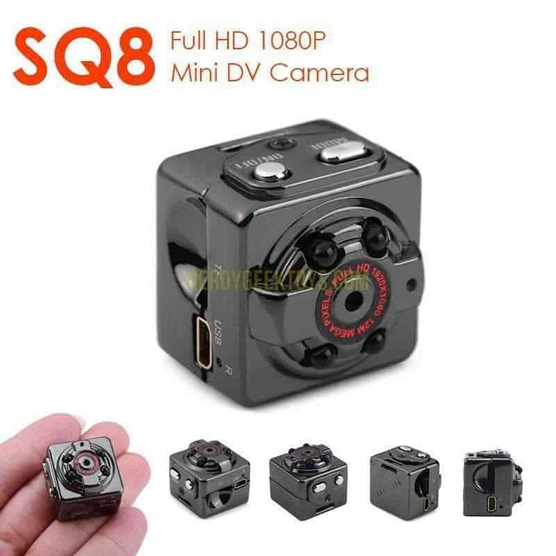 HD 1080P Wearable Video Camera With Night Vision - nerdygeektoys.com