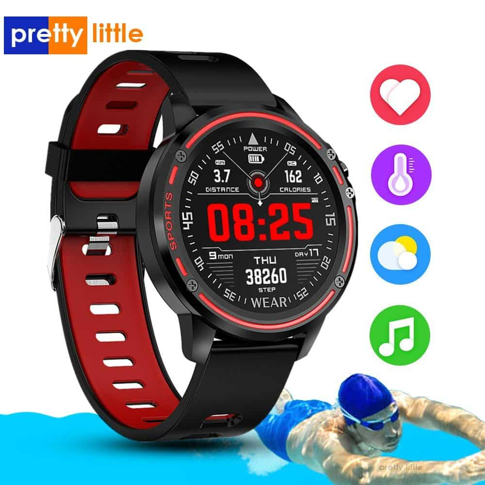 L8 Smart Watch Men Waterproof Heart Rate Monitor - nerdygeektoys.com