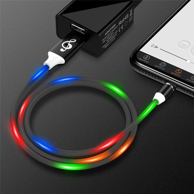 LED Magnetic USB Cable For All Devices - nerdygeektoys.com