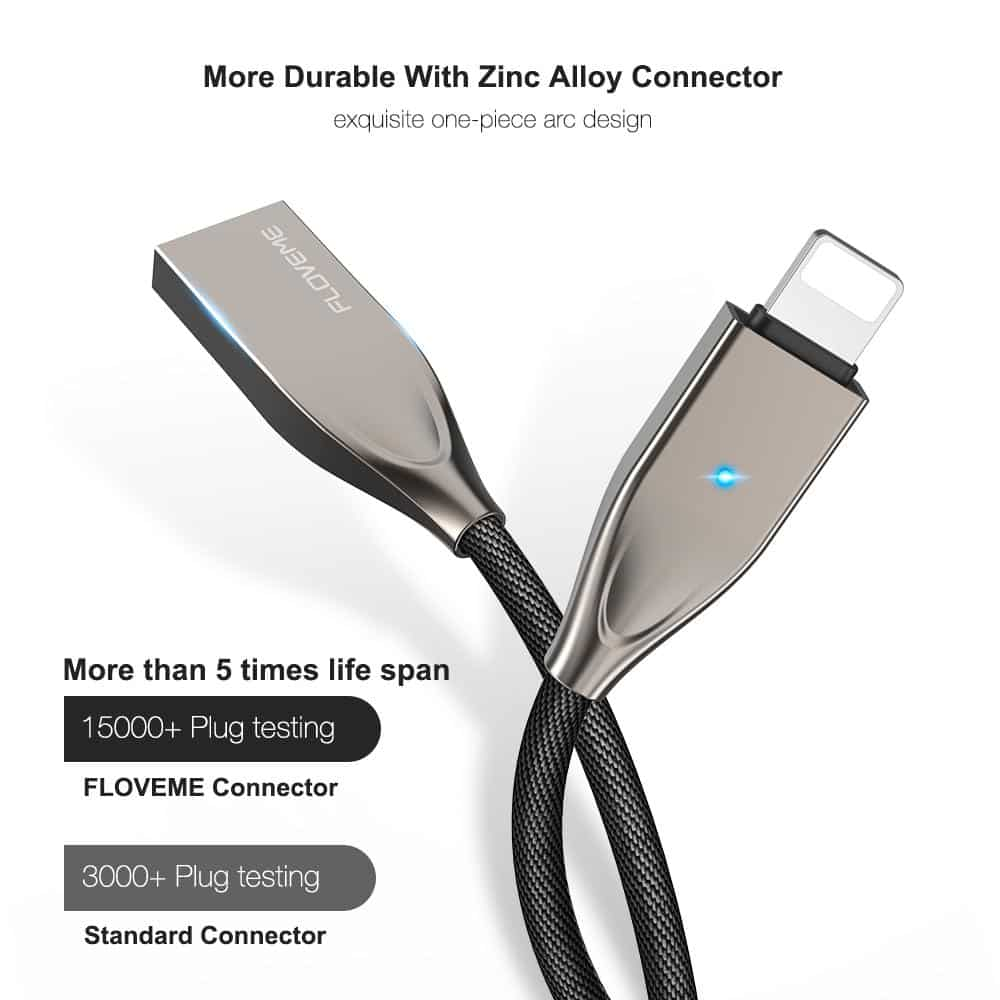 Lightning To USB Cable For iPhone And iPad - nerdygeektoys.com