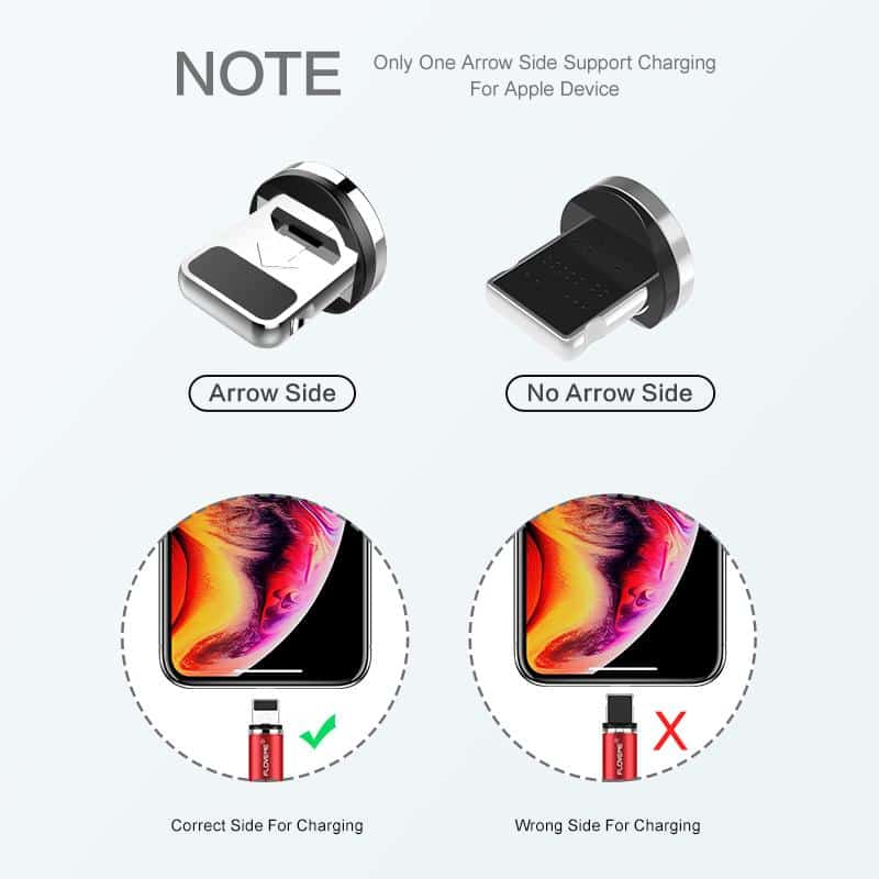 Magnetic Charge Cable For iPhone And Samsung - nerdygeektoys.com
