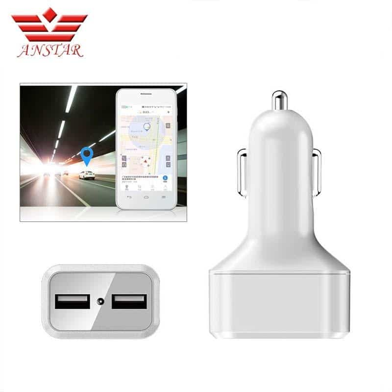 Mini Car GPS Tracker Dual USB Car Charger WIFI Tracking Device Remote Listening - nerdygeektoys.com