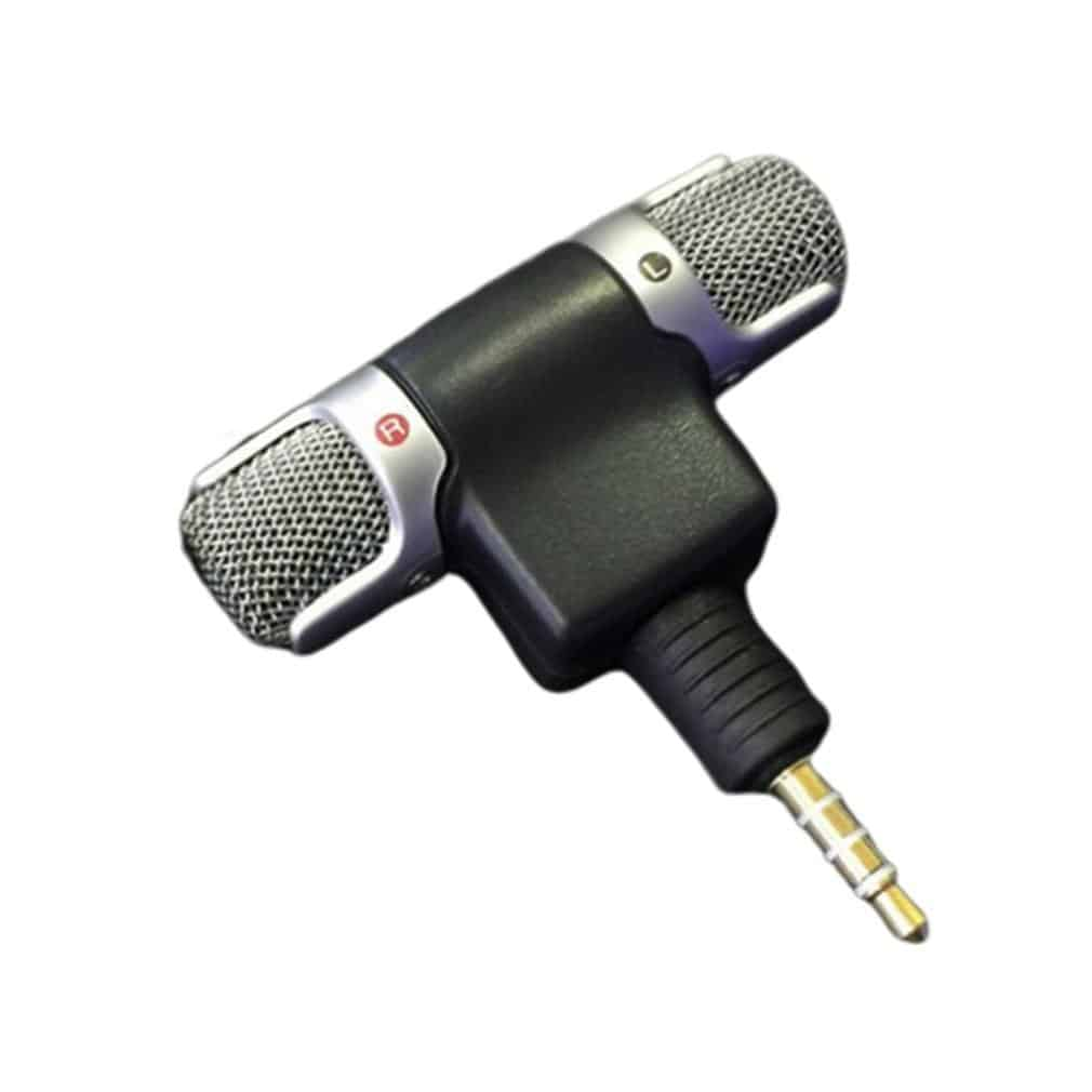 Mini Jack Microphone Stereo Mic For Recording Mobile Phone - nerdygeektoys.com