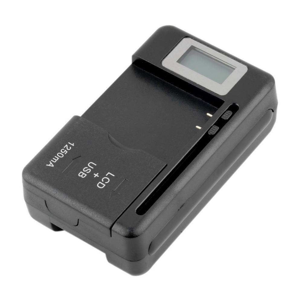 Mobile Universal Battery Charger LCD Indicator Screen For Cell Phones USB-Port Convenient Interchanging For Spare Batteries - nerdygeektoys.com