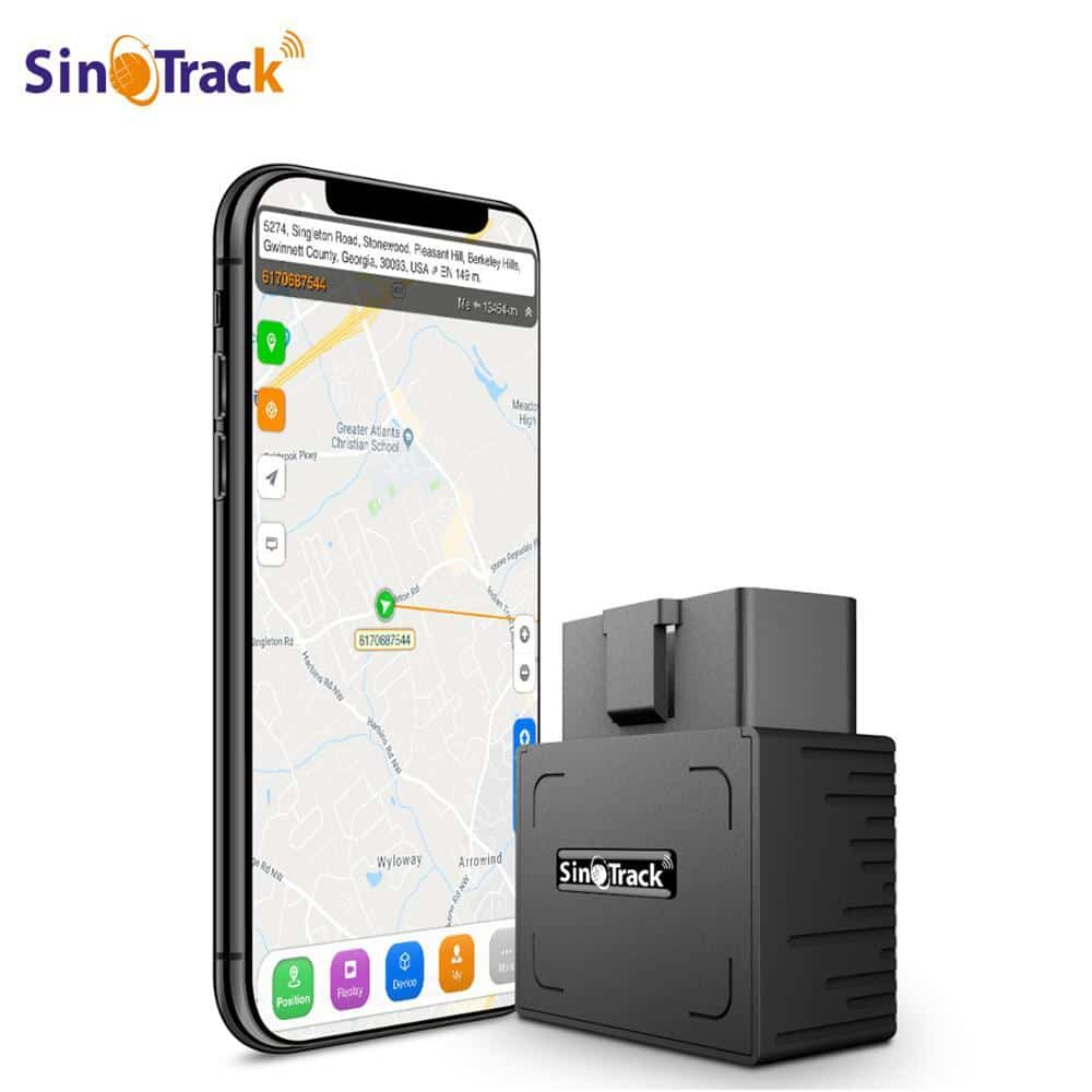 OBD II GPS Tracker 16PIN OBD Plug Play Car GSM OBD2 Tracking Device GPS locator OBDII with online Software IOS Andriod APP - nerdygeektoys.com