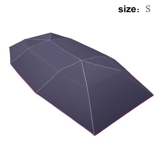 Outdoor Car Vehicle Tent Car Umbrella Sun Shade Cover - nerdygeektoys.com