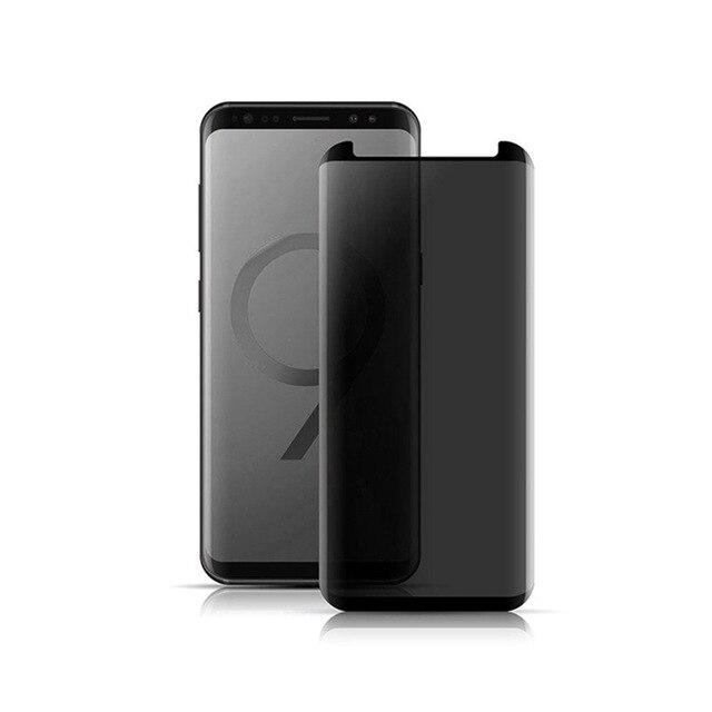 Privacy Glass For Samsung Galaxy Note 8 9 S8 S9 Plus S8 3D Anti-Peep - nerdygeektoys.com