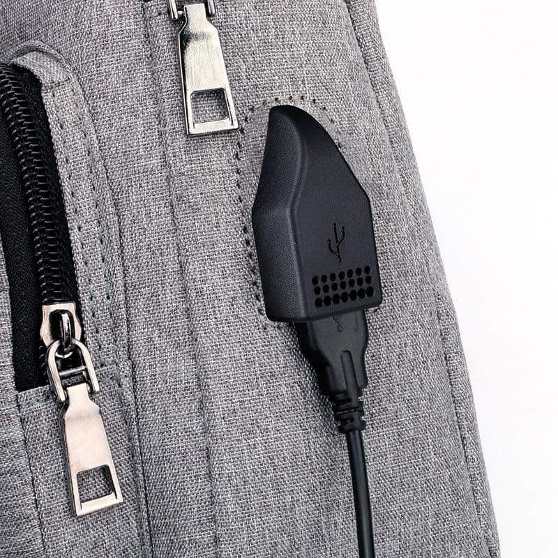 Sling Bag with USB Charging Port - nerdygeektoys.com