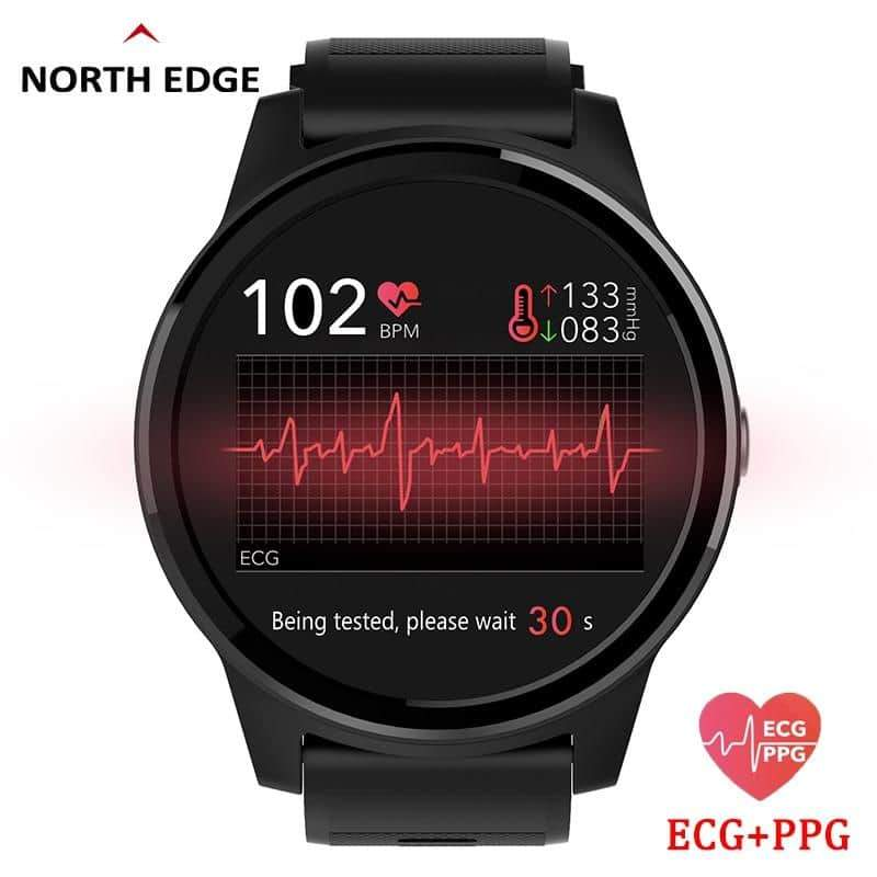 Smart Watch Sport Fitness Activity ECG PPG Blood Pressure Heart Rate - nerdygeektoys.com