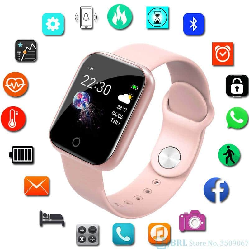 Smart Watch Women Men For Android Or Apple - nerdygeektoys.com
