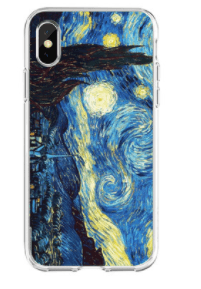 Starry Night Vincent Van Gogh Case for iPhone - nerdygeektoys.com