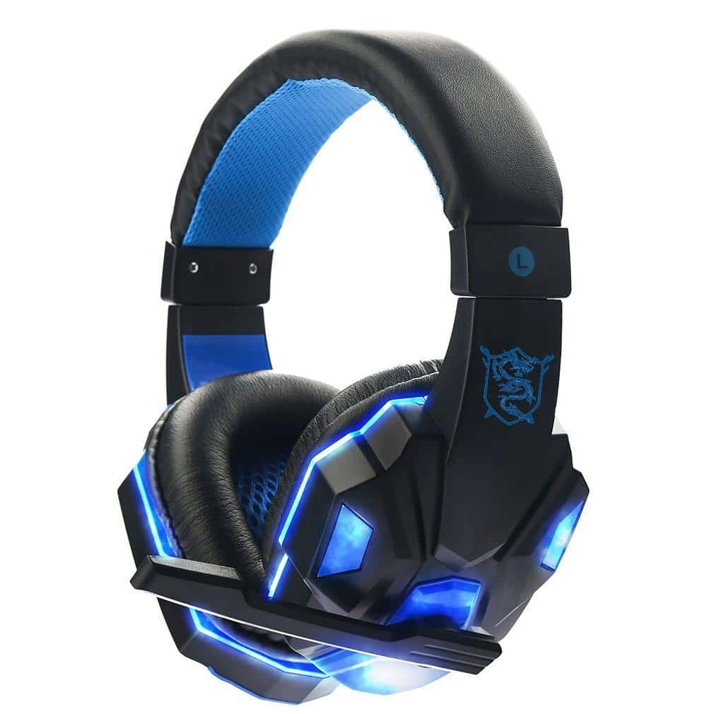 Stereo Gamer Gaming Headset PC Earphone - nerdygeektoys.com