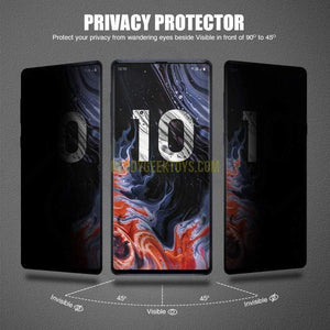 Tinted Magnetic Privacy Glass Phone Case For IPhone - nerdygeektoys.com