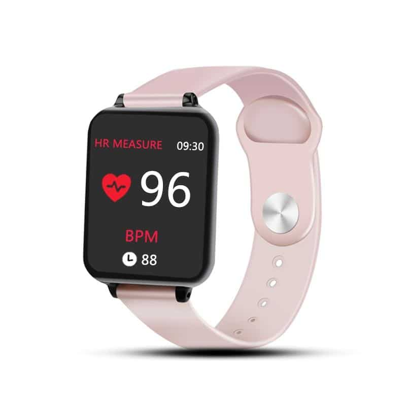 Waterproof Smartwatch Heart Rate Monitor & Blood Pressure - nerdygeektoys.com