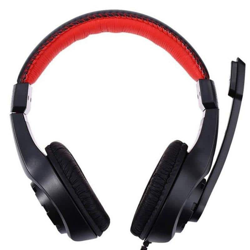 Wired Headset with Adjustable Microphone - nerdygeektoys.com