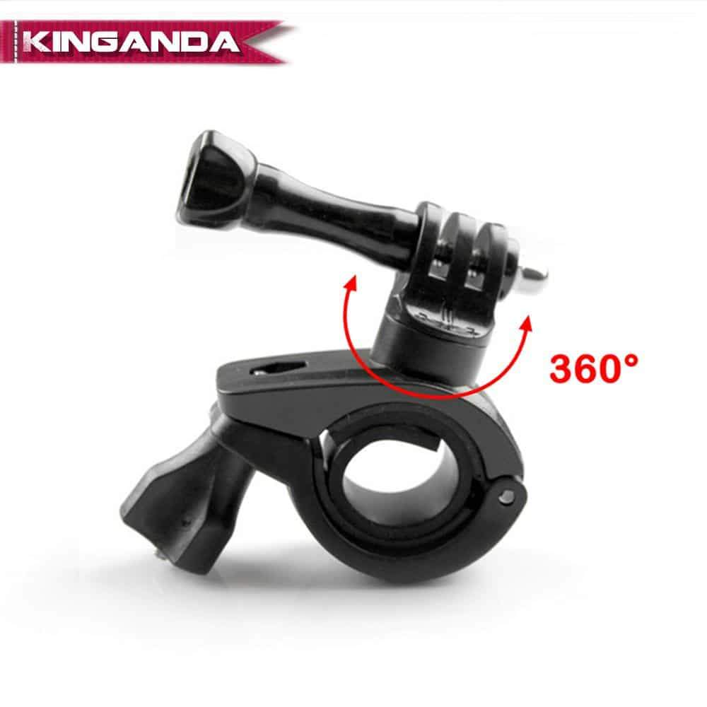 for Gopro Hero Camera Bicycle Mount Bike Motorcycle Bracket Holder for Go Pro Hero 8/7/6/5/4/3+ Action Cam Stand Frame Clip 2019 - nerdygeektoys.com