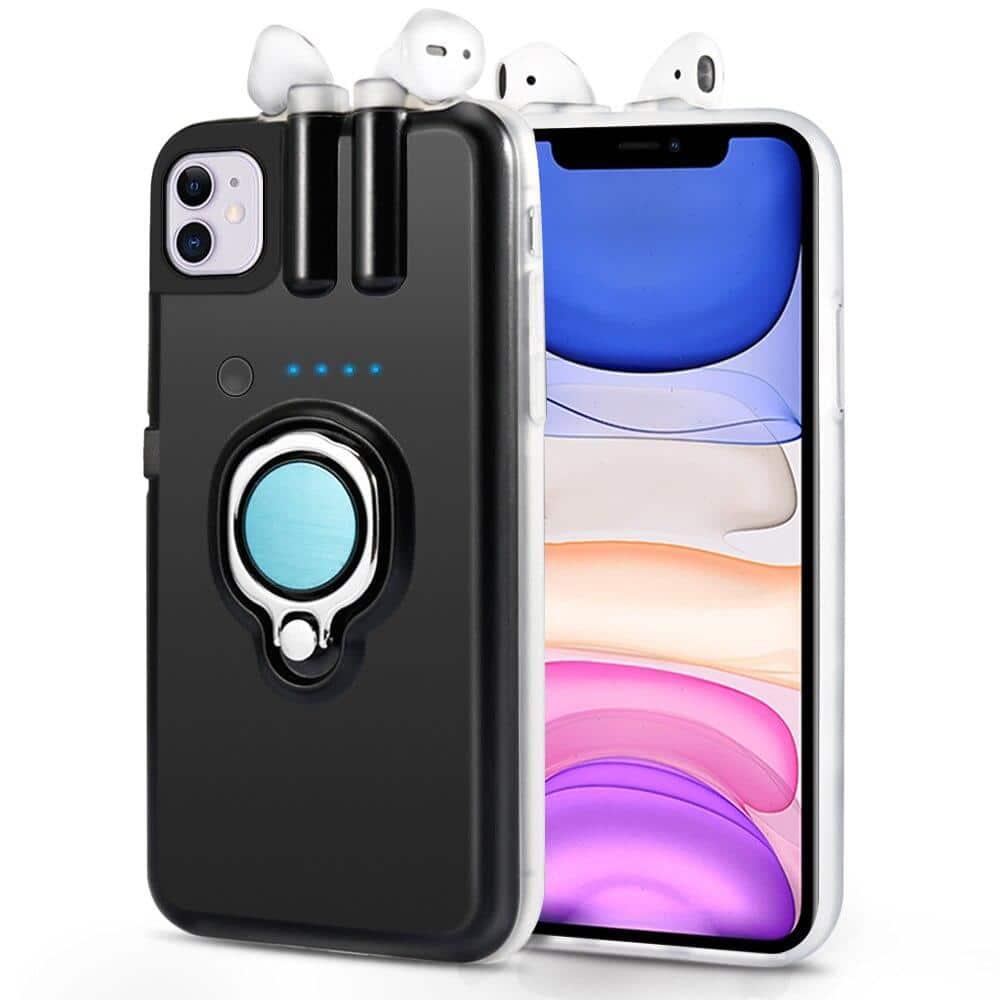 iPhone 11 case with built in airpods charger - nerdygeektoys.com
