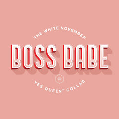 BB (BOSS BABE) SIGNET RING x YES QUEEN