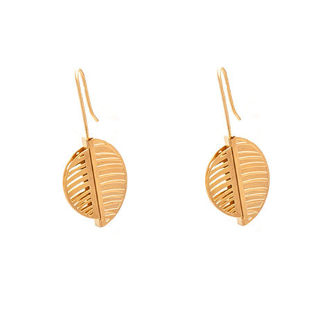 GOLD CALYPSO EARRINGS