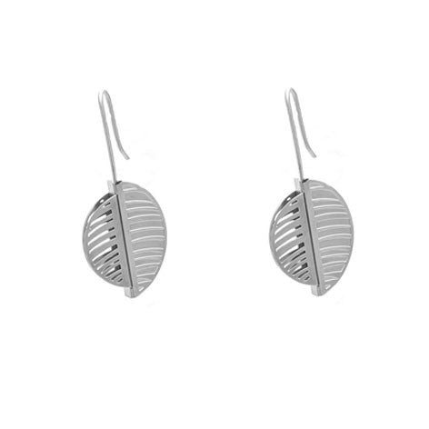 SILVER CALLISTO EARRINGS