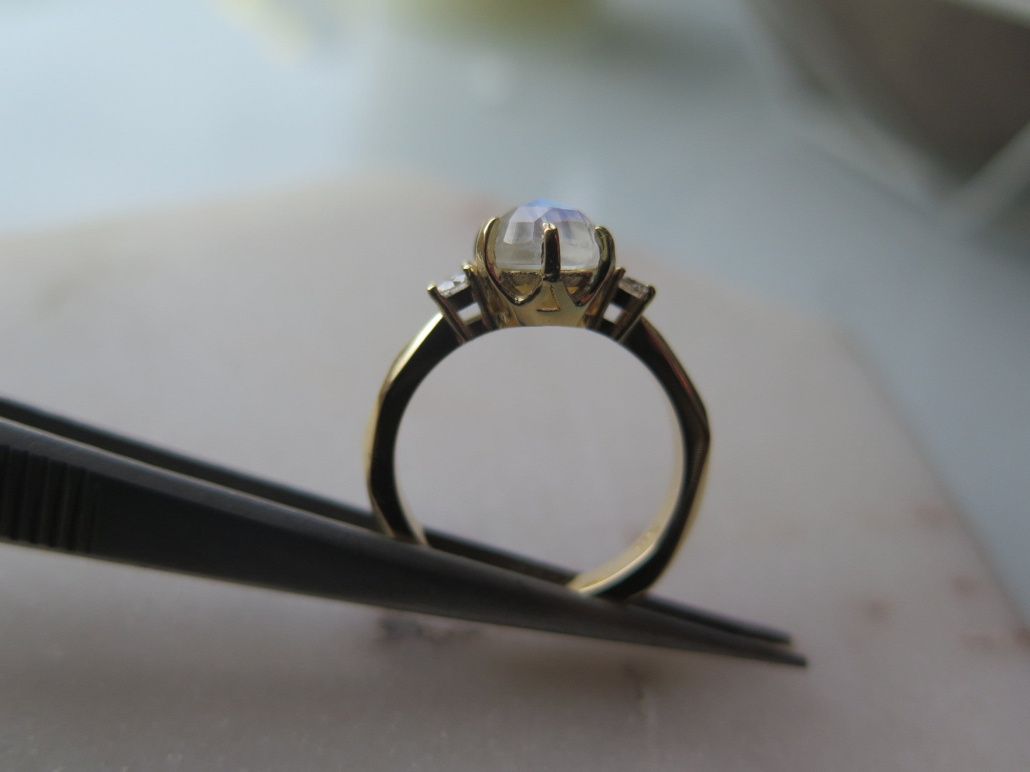 LUNA ENGAGEMENT RING