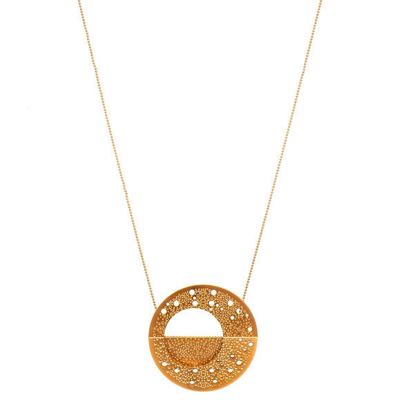 GOLD MILKY WAY PENDANT