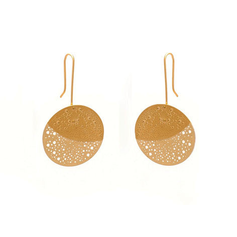 GOLD OBERON EARRINGS