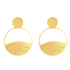 GOLD PALMYRA EARRINGS
