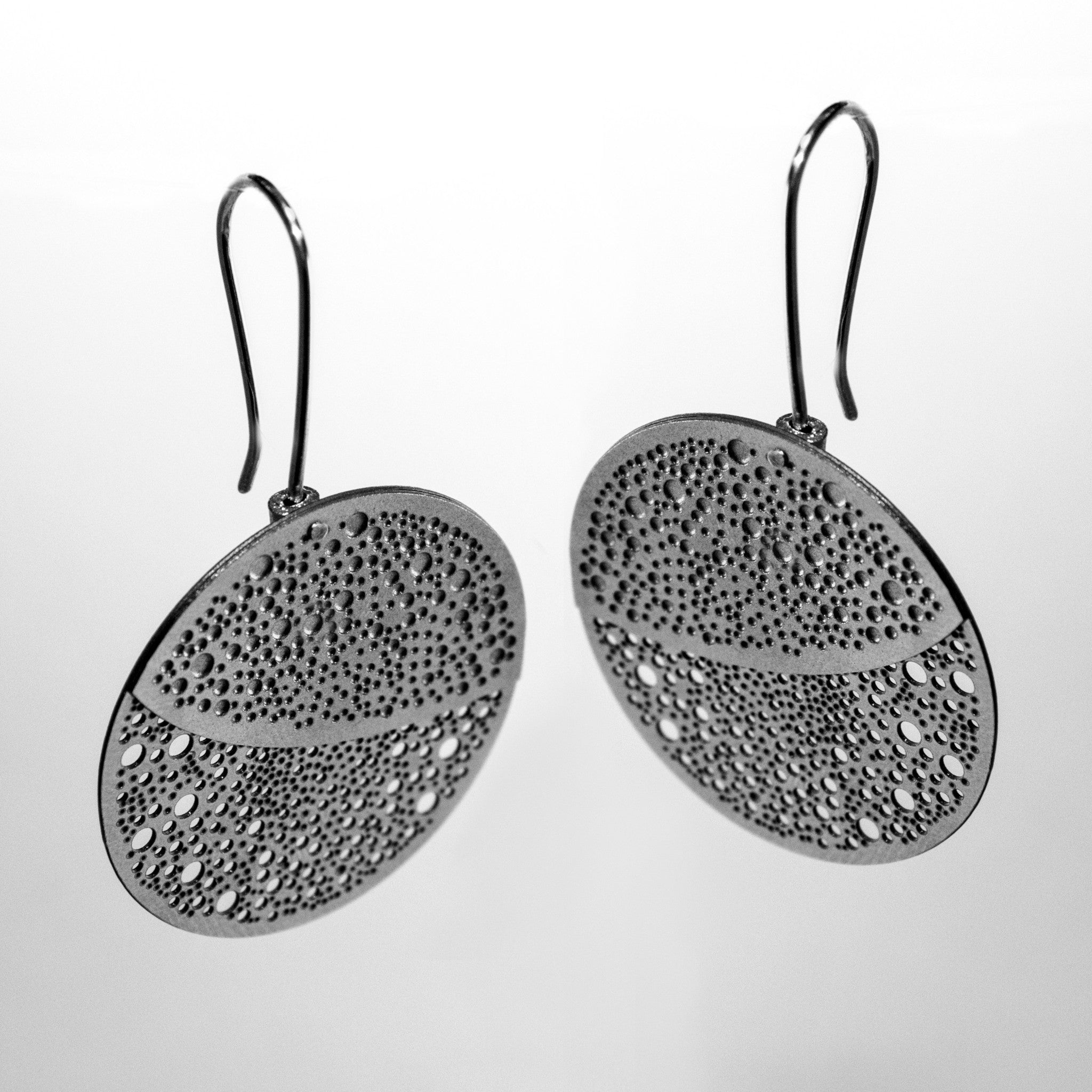 SILVER OBERON EARRINGS