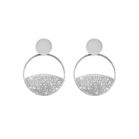 STAR CHASER HUGGIE HOOP EARRINGS