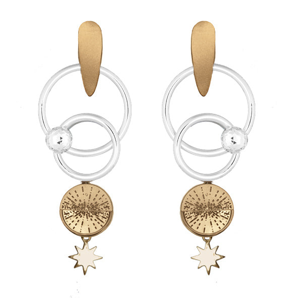 ASTRAL ORBIT STATEMENT EARRINGS
