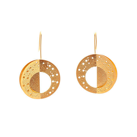 GOLD HALLEY EARRINGS