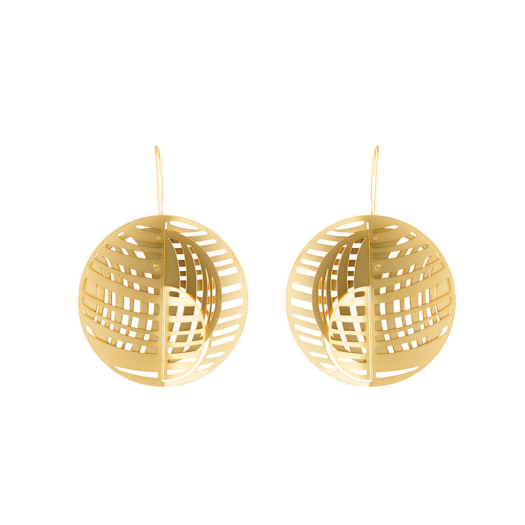 GOLD JUPITER EARRINGS