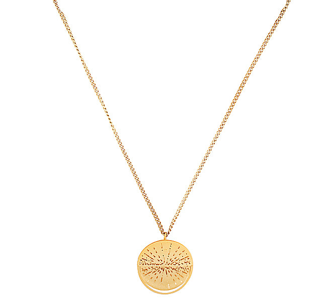 GOLD KYRA NECKLACE