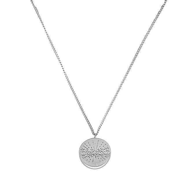 SILVER KYRA NECKLACE