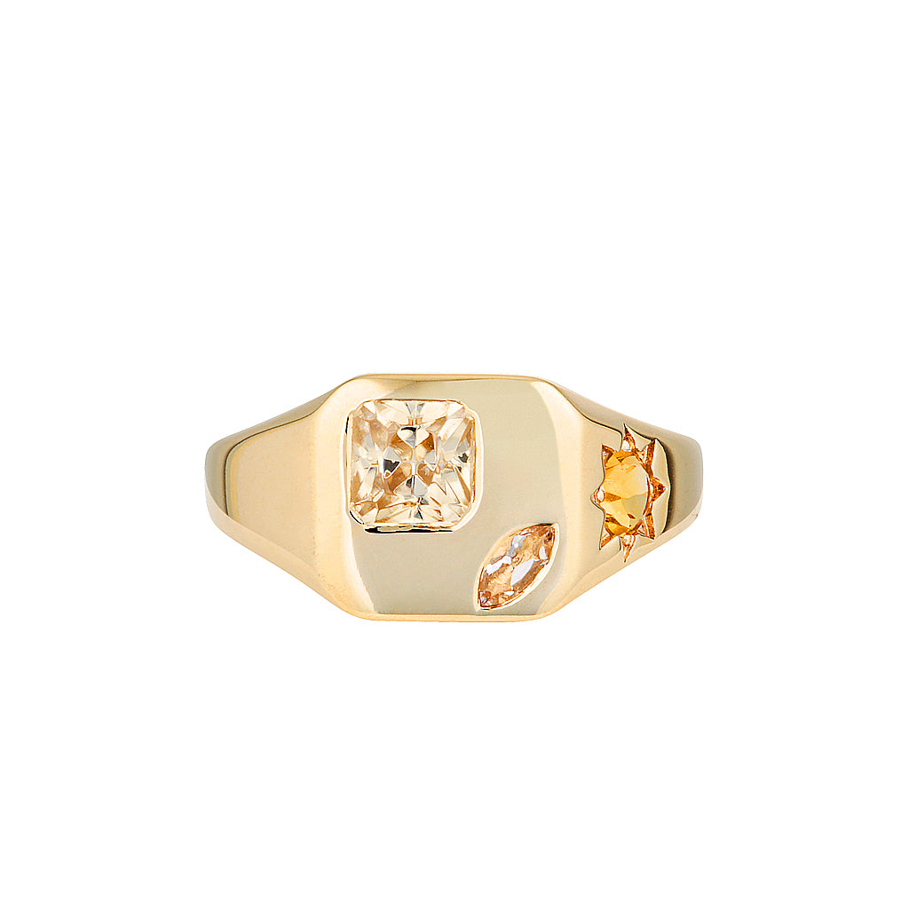 BB (BOSS BABE) SIGNET RING LIMITED EDITION