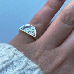 MOON CHILD SIGNET RING