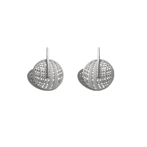 SILVER JUPITER EARRINGS