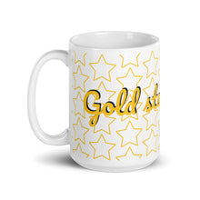 "Load image into Gallery viewer, ""Gold star for me"" mug"
