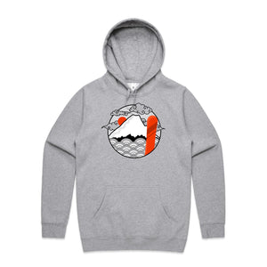 Unisex Land of Japow SHRED Hoodie - No Text