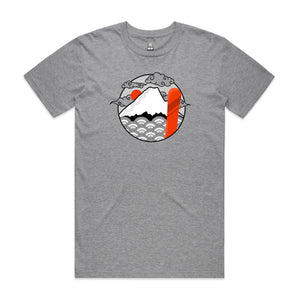 Men's Land of Japow SHRED Tee - No Text