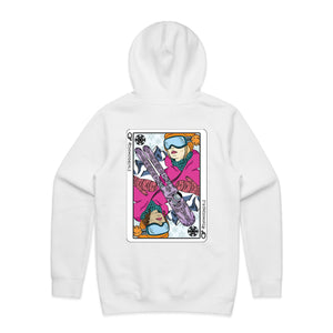 Queen of Ski Hoodie - Reversed